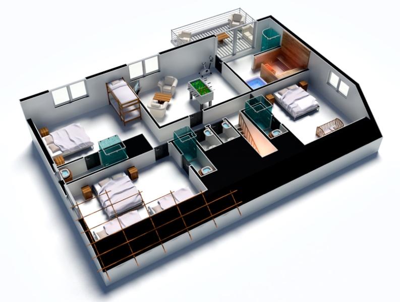 La maison prend forme, étage par étage...