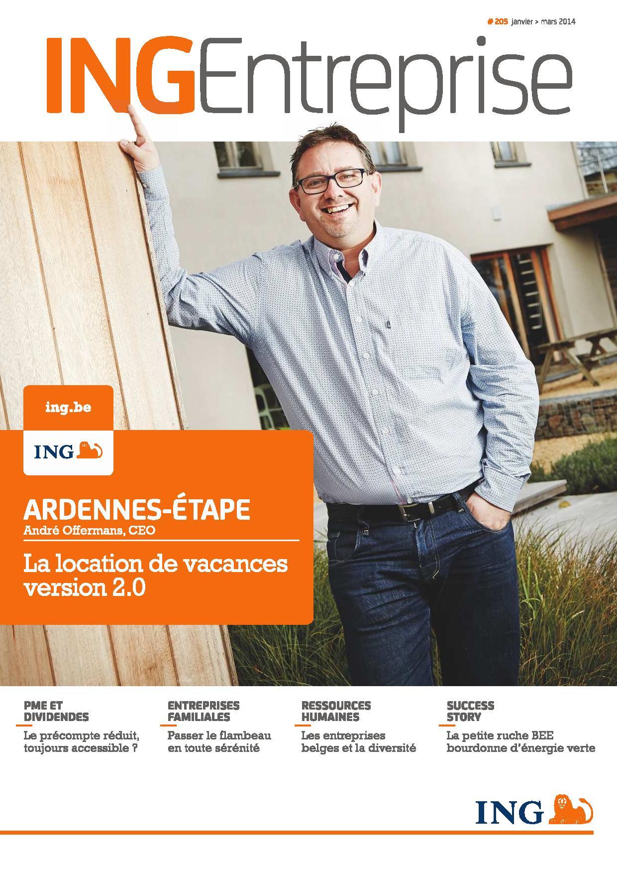 Monsieur Offermans, CEO d'Ardennes-Etape