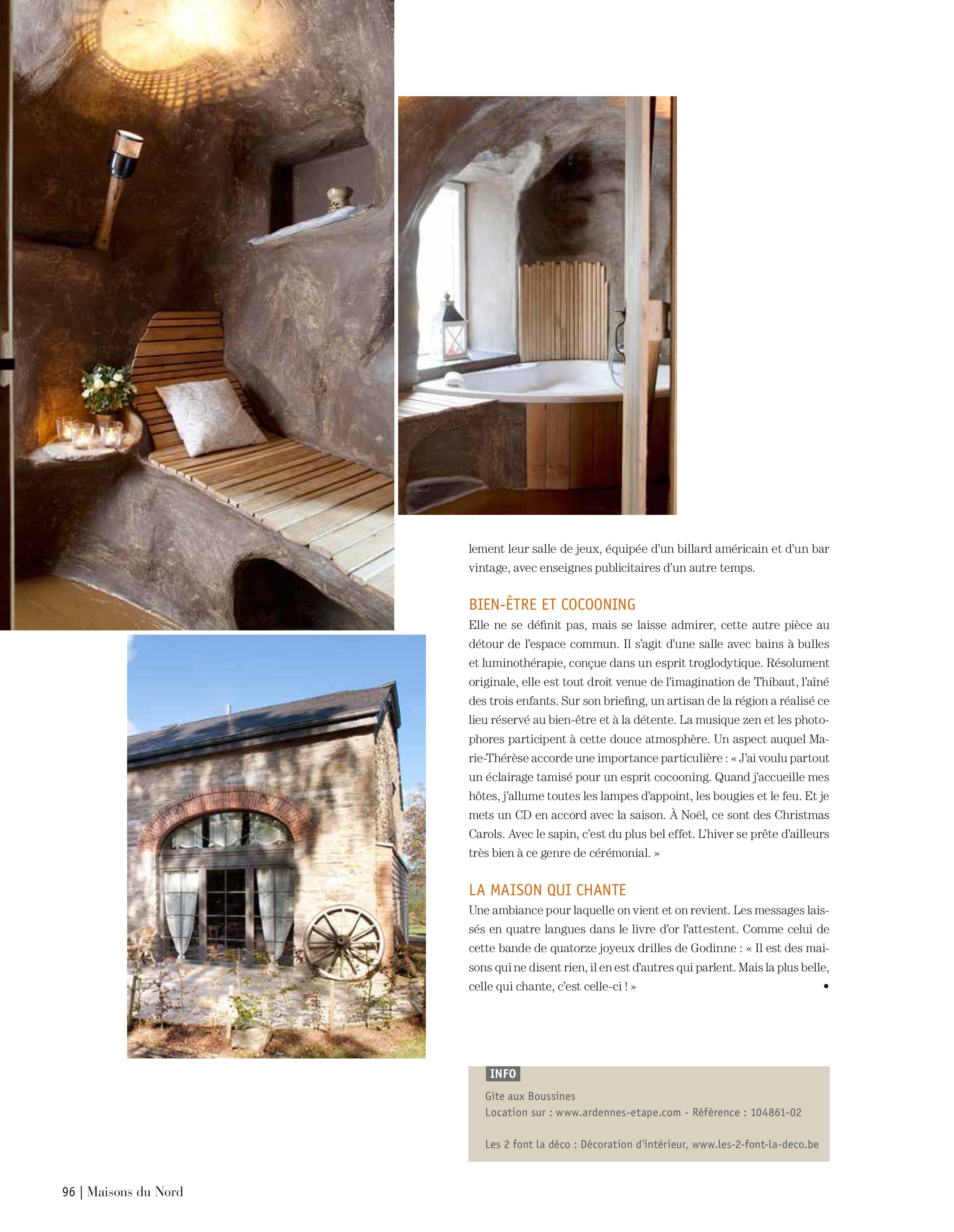 Maison de vacances Ardennes-Etape à retrouver sur notre site web: www.Ardennes-Etape.be, référence 104861-02