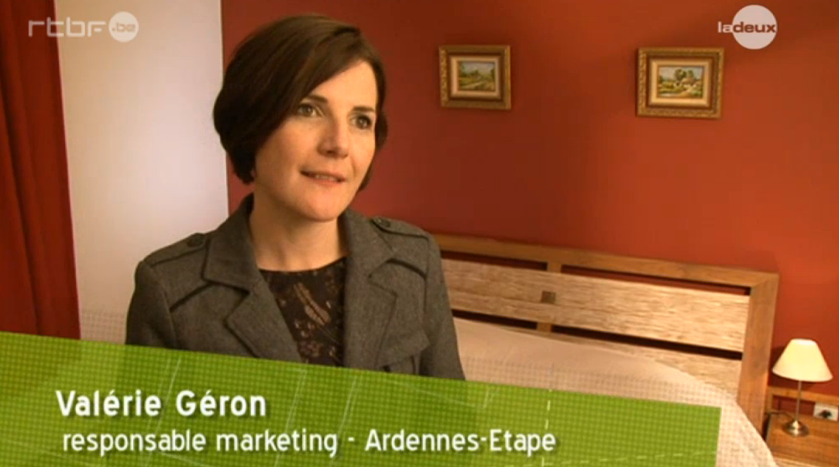 Valérie Geron, marketing & communication manager chez Ardennes-Etape